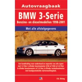 BMW 3-serie Vraagbaak P. Olving type E46 Benzine Kluwer 98-01 nieuw   ISBN 90-215-3455-8 Nederlands