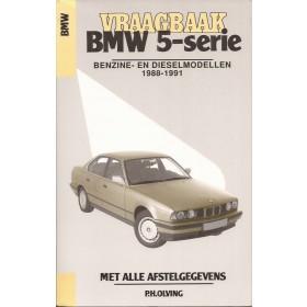 BMW 5-serie Vraagbaak P. Olving type E34 Benzine/Diesel Kosmos 88-91 nieuw   ISBN 90-215-4120-3 Nederlands