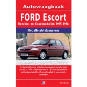 Ford Escort Vraagbaak P. Olving  Benzine/Diesel Kluwer 95-98 nieuw   ISBN 90-215-8515-4 Nederlands