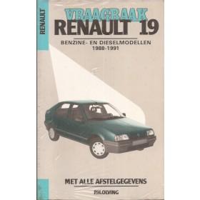 Renault 19 Vraagbaak P. Olving  Benzine/Diesel Kluwer 88-91 nieuw   ISBN 90-215-8895-1 Nederlands