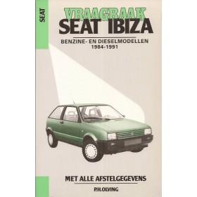 Seat Ibiza Vraagbaak P. Olving  Benzine/Diesel Kluwer 84-91 nieuw   ISBN 90-201-2548-6 Nederlands