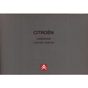 Citroen Onderhoudsboek blanco Onderhoudsboekje Benzine/Diesel Fabrikant 99 ongebruikt Nederlands