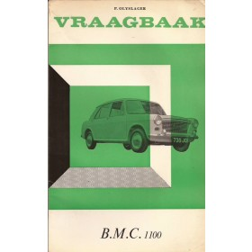 B.M.C. 1100 Vraagbaak P. Olyslager  Benzine Kluwer 62-66 ongebruikt   Nederlands