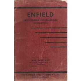 Enfield 2-cilinder diesel Onderdelengids   Diesel Importeur  met gebruikssporen   Nederlands