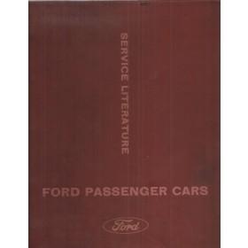 Ford Zodiac/Zephyr Werkplaatshandboek   Benzine Fabrikant 66 met gebruikssporen ringband, volledigheid niet verifieerbaar  Engels