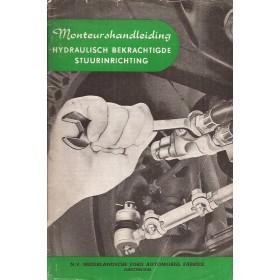 Ford/Mercury Hydraulisch bekrachtigde stuurinrichting Monteurshandleiding   Benzine Fabrikant 53-54 met gebruikssporen service-instructies  Nederlands
