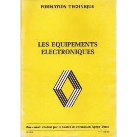 Renault Electronique Werkplaatshandboek    Fabrikant 83 ongebruikt   Nederlands