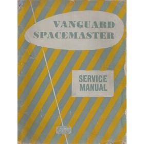 Standard Vanguard Spacemaster Werkplaatshandboek   Benzine Fabrikant 55 met gebruikssporen   Engels