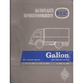 Renault Galion Werkplaatshandboek Benzine/Diesel Fabrikant 62 met gebruikssporen Nederlands