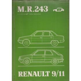 Renault 9/11 Werkplaatshandboek Benzine/Diesel Fabrikant 83 ongebruikt carrosserie  Nederlands