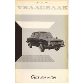 Glas 1004/1204 Vraagbaak P. Olyslager  Benzine Kluwer 62-65 ongebruikt   Nederlands
