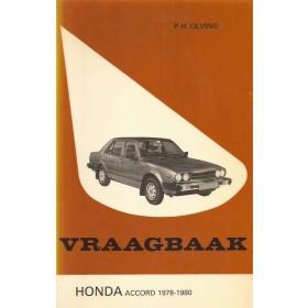 Honda Accord Vraagbaak P. Olving Mk1 Benzine Kluwer 78-80 met gebruikssporen   Nederlands