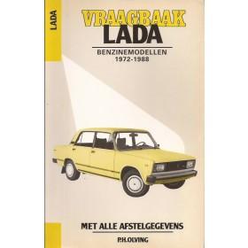 Lada 1200/1300/1500/1600 Vraagbaak P. Olving  Benzine Kluwer 72-88 met gebruikssporen   Nederlands