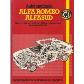 Alfa Romeo Alfa Romeosud Autohandboek J. Haynes  Benzine Kluwer 74-84 ongebruikt   Nederlands