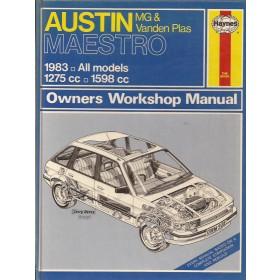 Austin Maestro Owners workshop manual J. Haynes  Benzine Haynes UK 83 met gebruikssporen   Engels