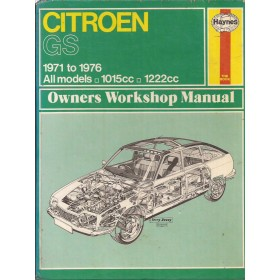 Citroen GS Owners workshop manual J. Haynes  Benzine Haynes UK 71-76 met gebruikssporen   Engels