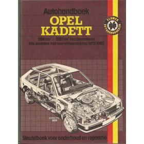 Opel Kadett D Autohandboek P.H. P. Olving  Benzine Kluwer 79-82 ongebruikt   Nederlands