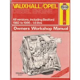 Opel/Vauxhall/Bedford 1.6 Dieselengine Autohandboek P.H. P. Olving  Diesel Kluwer 82-86 met gebruikssporen   Nederlands