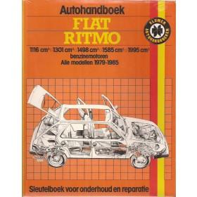 Fiat Ritmo Autohandboek P.H. P. Olving  Benzine Kluwer 79-85 ongebruikt   Nederlands
