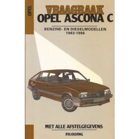 Opel Ascona C Vraagbaak P. Olving  Benzine/Diesel Kluwer 83-86 ongebruikt   Nederlands