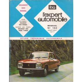Peugeot 304 Etude technique   Diesel Expert Automobile 77 ongebruikt   Frans