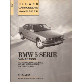 BMW 5-serie Kluwer carrosserie boek P. Olving  Benzine/Diesel Kluwer 88-90 ongebruikt   Nederlands