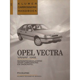 Opel Vectra A Kluwer carrosserie boek P. Olving  Benzine/Diesel Kluwer 88-91 ongebruikt   Nederlands