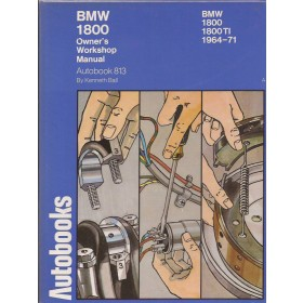 BMW 1800/1800Ti Owners Workshop Manual K. Ball  Benzine Autobooks 64-71 ongebruikt   Engels