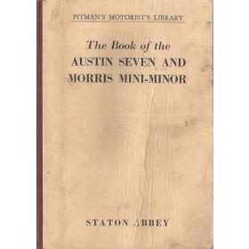 Austin/Morris Seven/Mini-Minor Pitman's Handbook S. Abbey   Pitman Publishing 61 met gebruikssporen   Engels