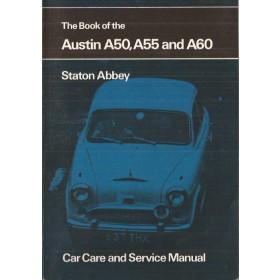 Austin A50/A55/A60 Pitman's Handbook S. Abbey   Pitman Publishing 61-70 met gebruikssporen   Engels
