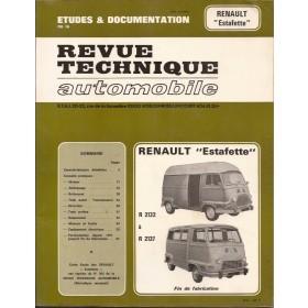 Renault Estafette Revue Technique   Benzine E.T.A.I. 62-71 met gebruikssporen   Frans