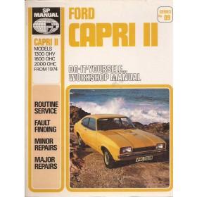 Ford Capri SP Manual  Mk2 Benzine  74-78 ongebruikt   Engels