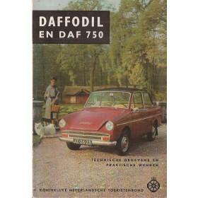 DAF Daffodil/750 Technische gegevens en praktische wenken P. Bos  Benzine ANWB 64 met gebruikssporen   Nederlands