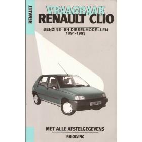 Renault Clio Vraagbaak P. Olyslager  Benzine/Diesel Kluwer 91-93 ongebruikt   Nederlands