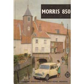 Austin/Morris Mini Technische gegevens en praktische wenken P. Bos 850 Benzine ANWB 63 ongebruikt   Nederlands
