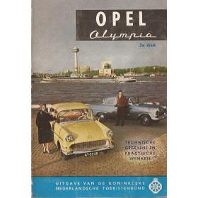 Opel Olympia Technische gegevens en praktische wenken H. Bouvy  Benzine ANWB 61 ongebruikt   Nederlands