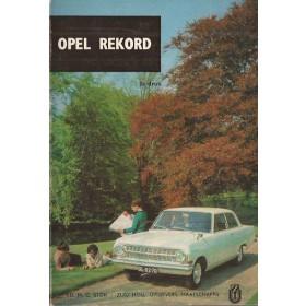Opel Rekord A Technische gegevens en praktische wenken H. Bouvy  Benzine ANWB 65 ongebruikt   Nederlands