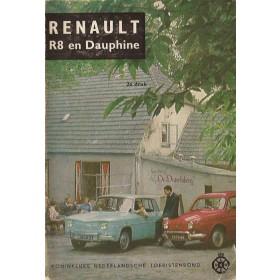 Renault Dauphine/8 Technische gegevens en praktische wenken H. Bouvy  Benzine ANWB 65 ongebruikt   Nederlands