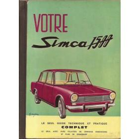 Simca 1500/1501 Votre..   Benzine E.P.A. 67 met gebruikssporen   Frans