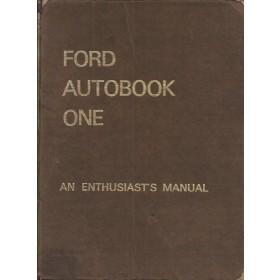 Ford Anglia/Prefect/Corsair/Cortina/Lotus/Capri Workshop Manual Benzine Autopress 59-65 met gebruikssporen ex-bibliotheek Engels