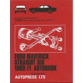 Ford Maverick Workshop Manual K. Ball  Benzine Autopress 69-71 ongebruikt   Engels