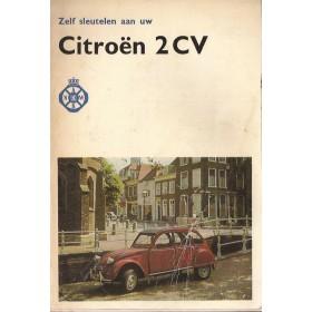 Citroen 2CV Zelf sleutelen aan P. Bos  Benzine ANWB 74 met gebruikssporen lichte vochtschade  Nederlands