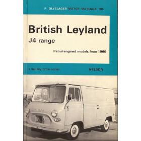 British Leyland J4 Motor Manual P. Olyslager  Benzine Nelson 60-71 ongebruikt   Engels
