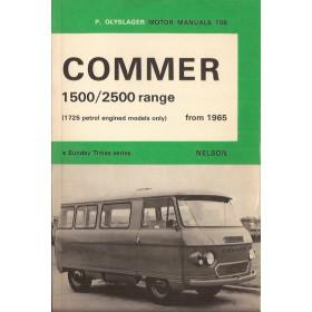 Commer 1500/2500 Motor Manual P. Olyslager 1725cc Benzine Nelson 65-71 ongebruikt   Engels