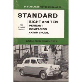 Standard 8/10 Motor Manual P. Olyslager  Benzine Nelson 53-62 ongebruikt   Engels