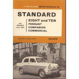 Standard 8/10 Motor Manual P. Olyslager  Benzine Nelson 53-66 ongebruikt   Engels