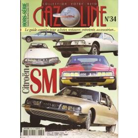 Citroen SM, overzichtsboek, 70-75, Votre auto, Gazoline, 06, ongebruikt, Frans