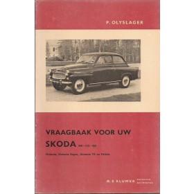 Skoda 440/445/450/Octavia/Felicia Vraagbaak P. Olving  Benzine Kluwer 56-65 ongebruikt   Nederlands