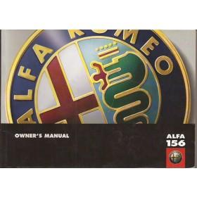 Alfa Romeo 156 Instructieboekje   Benzine/Diesel Fabrikant 97 ongebruikt   Engels