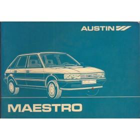 Austin Maestro Instructieboekje   Benzine Fabrikant 83 met gebruikssporen   Nederlands